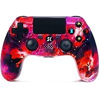 Styrenhet för PS4 trådlös Playstation Double Shock 4 Bluetooth spelspelkontroller kontroll kompatibel med Playstation 4…