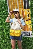 Generic Bag women girl junior high school students College Wind canvas shoulder bag backpack women girl Korean Han Guosen line hit color large capacity backpack tide