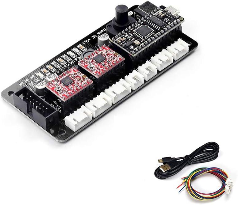 EleksMaker ManaSE 2 Axis Dual Y-Axis Stepper DIY Laser Motor Driver Controller Board for DIY Laser Engraver: Amazon.es: Bricolaje y herramientas