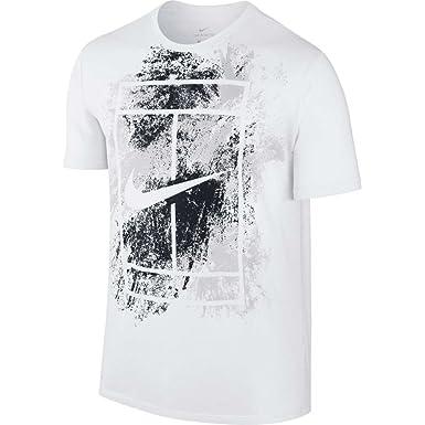 50f5f32fbaf83 Tennis Nike Court T-Shirt de Tennis Homme
