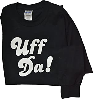 product image for Gildan Cotton Blend Long Sleeve Uff Da T-Shirt