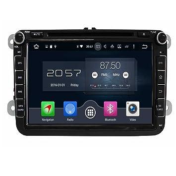 8 Pulgadas Coche Radio con GPS Quad Core Android 6.0 para VW Magotan Scirocco Amarok Caddy