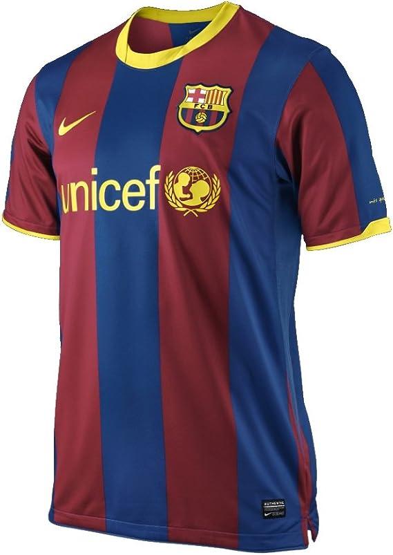 Nike Camiseta Del Fc Barcelona 2010 - 2011 382354 - 486, XL: Amazon.es: Deportes y aire libre