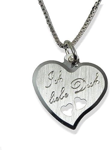 Herz Anhänger mit Gravur 925 Silber Geschenk Geburt Taufe Baby PS105 KE2 EINE Ö