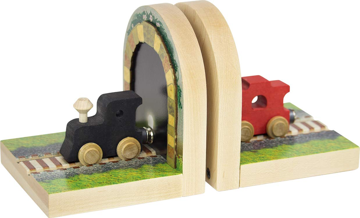 Train Tunnel Bookends - Made in USA