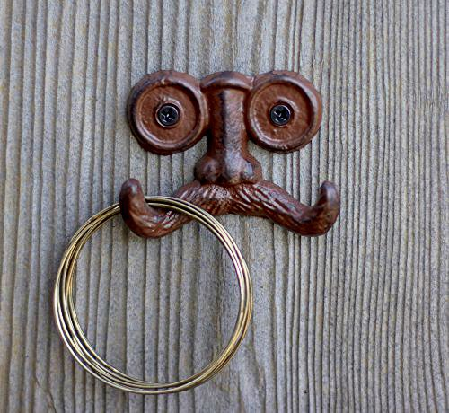 Iron Mustache Wall Hook