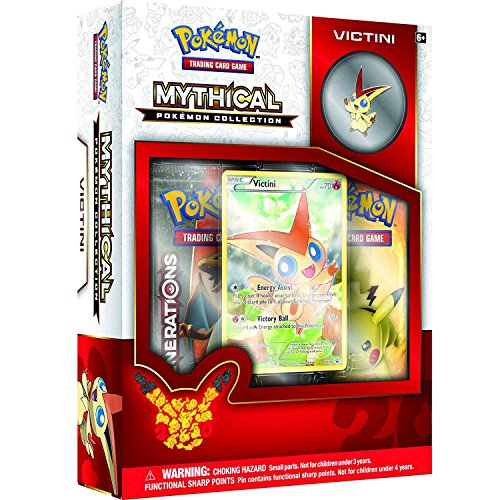 Pokmon TCG: Mythical Pokmon Collection Victini (Generation Pokemon)