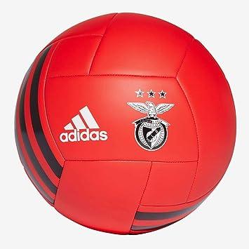adidas del Benfica Balón de fútbol, benred/Black/White, 5: Amazon ...