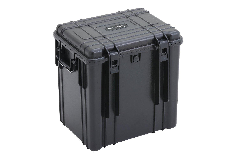 【NEO KEEPR】R-409 ネオキーパー 防塵防水 IP67 ハードケース カメラケース プロテクターツールケース 精密機器の保管や輸送持ち運びに 防水の為アウトドアにも!ミリタリー用品としてのガンケースにもお使いいただけます … B017HI7X4S ブラック