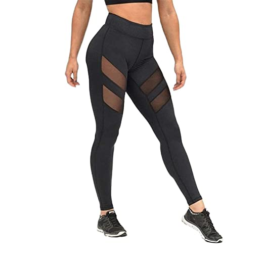 Amazon.com: SuperLina Women Yoga Pants Sports Running ...