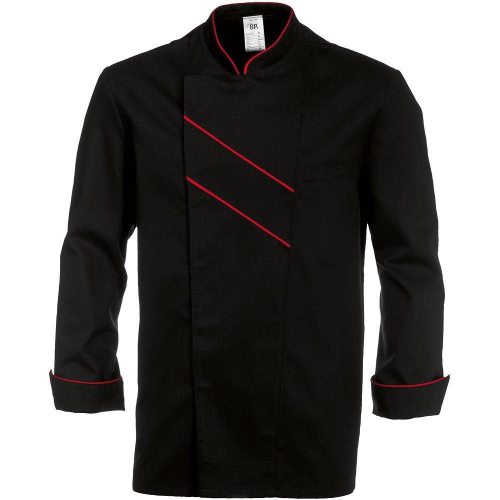 Chaqueta de Cocina Negra Manga Larga/ /Grand Chef