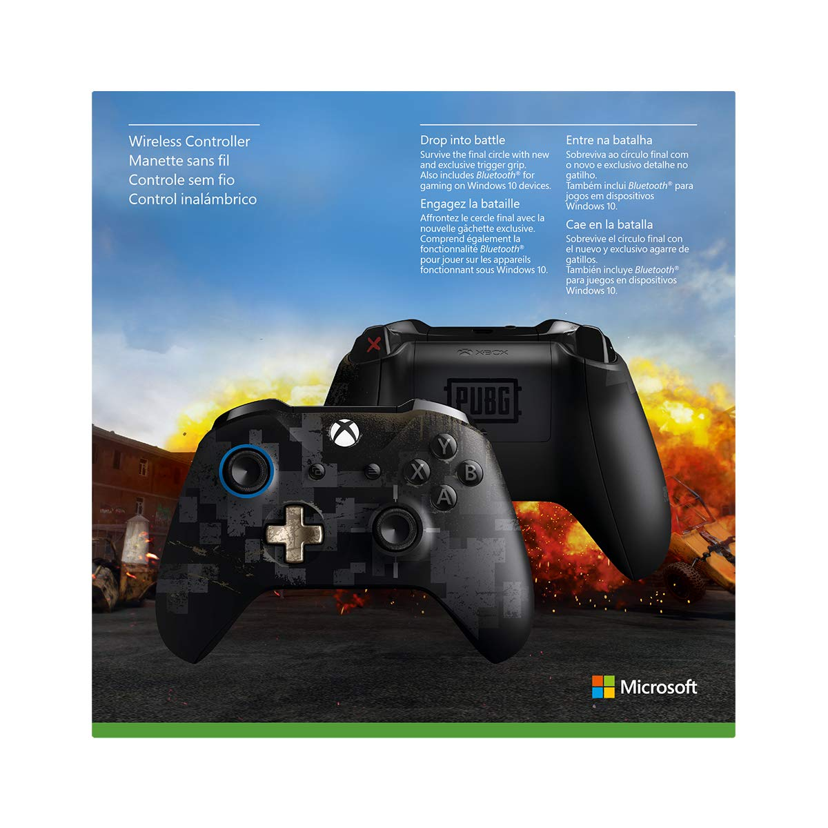 Amazoncom Xbox Wireless Controller Playerunknowns