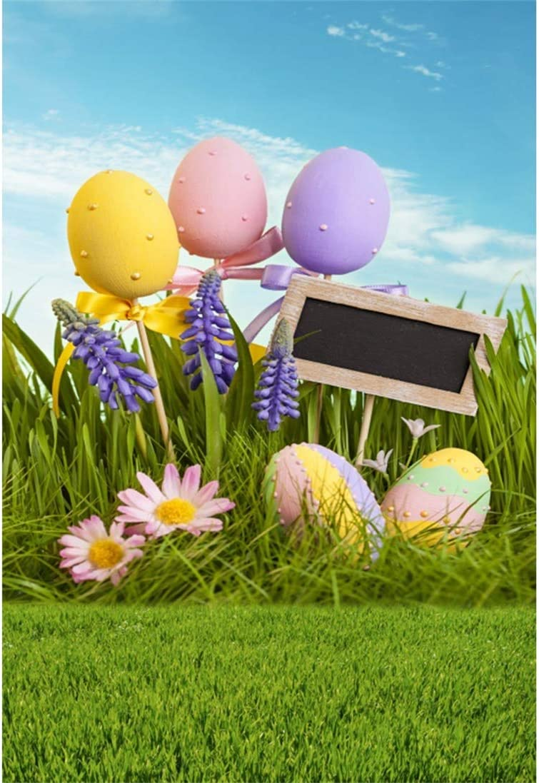 Yeele-Easter-Backdrop 3x5ft Happy Easter Photography Background Eggs Photo Backdrops Pictures Studio Props Wallpaper