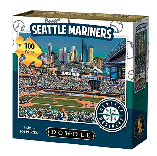Dowdle Folk Art Seattle Mariners Jigsaw Puzzle (100  Pieces)