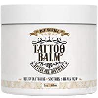 Premium Tattoo Aftercare Healing Balm Ointment - Ink Scribd - Relieves Itching,...