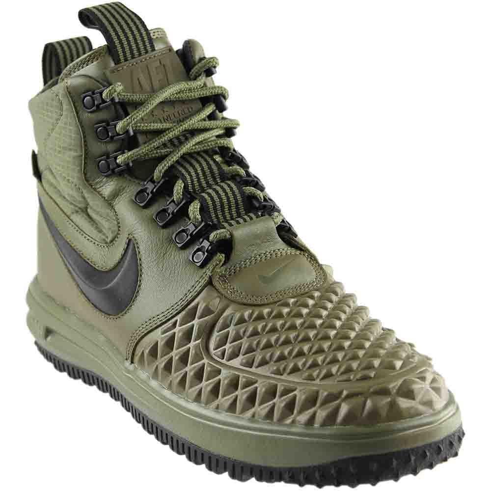 Nike Lunar Force 1 17 Duckboot 916682-202  45 EU|Mehrfarbig (Olivgreen - Schwarz)