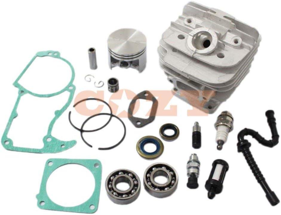 New 48mm Kits de cilindro de pistón para Stihl 036MS360motosierra w/Decom. Puerto 11250201215