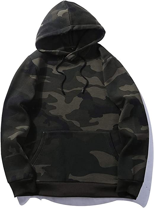 Giles Abbot Camouflage Jacket Men Winter Hooded Sweatshirts Outerwear Coats  Military Tracksuit 03 -Army Green 2065ff29b