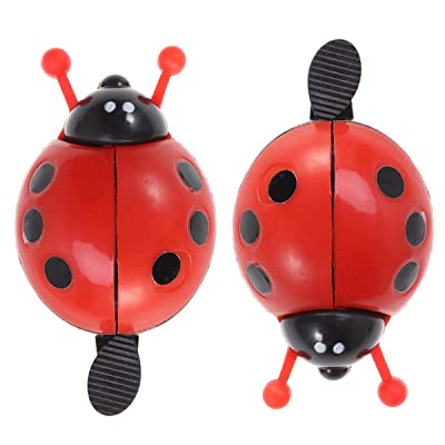 BESPORTBLE 2PCS Kids\' Bike Bells Rings Bicycle Cycling Handlebar Ring Sound Horn Bell Alarm - Red : Sports & Outdoors [5Bkhe0506887]