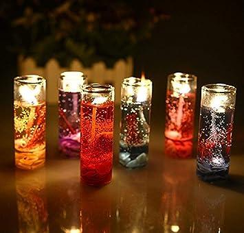 SD Decorz Pencil Jelly Candles, Multicolour