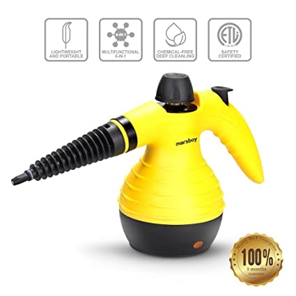 Attrayant Handheld Steam Cleaner U2013 High Temperature / High Pressure Steam Cleaner,  Powerful Steam Removes Stains