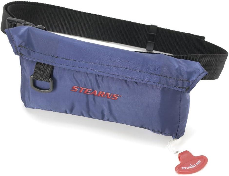 Stearns inflata-belt Maxベルトパック自動/手動(ネイビー、大人ユニバーサル)