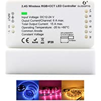GLEDOPTO LED Strips Controller Zigbee RGB CCT 1ID Smart Dimmer Compatible with Zigbee Hub Android iOS Smart Phone App…