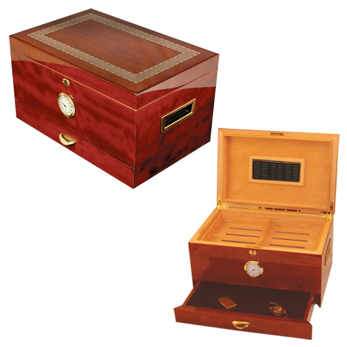 Cuban Crafters Arte Original Humidors Cigar Humidor for 150 Cigars