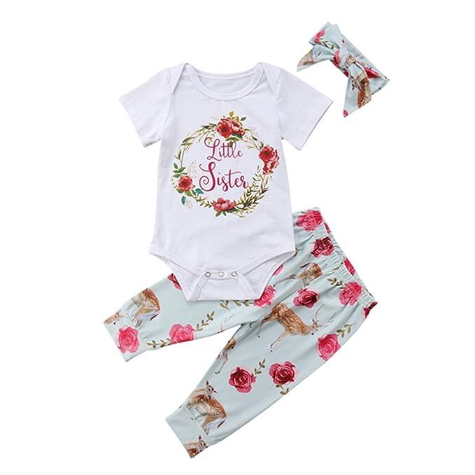 657b84cf6 Amazon.com  Newborn Girl Clothes Baby Sister Little Sister Onesie ...