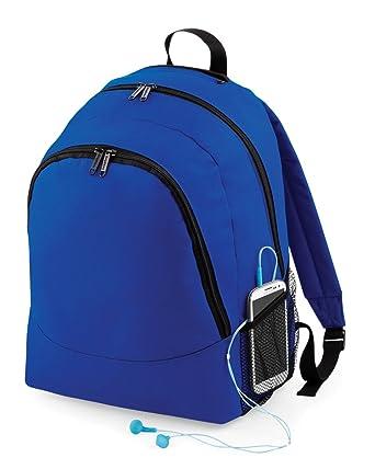 Bagbase Universal Backpack Colour Bright Royal Size O S  Amazon.co.uk   Clothing 99c5e029bdfb8