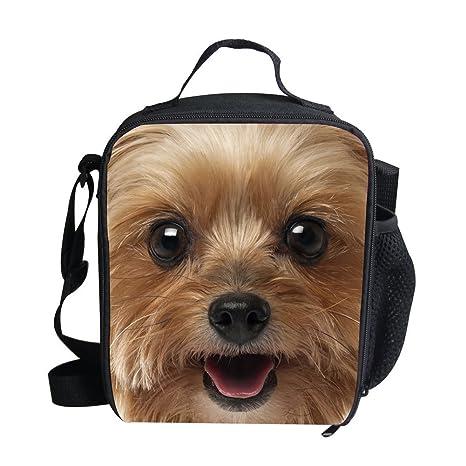 Coloranimal Goofy Floral Pug Dog Printed Kids Girls School Bag Casual Daypack
