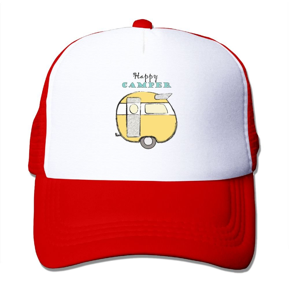 FeiTian Happy Glamper Sized Baseball Caps For Men /& Women Cool Great For Sports Adventures Snapback Hat