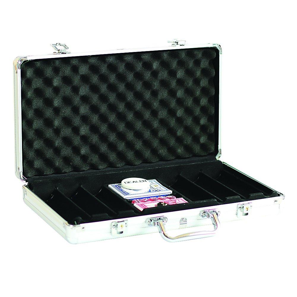 Lion Games & Gifts Europe 3015 -Custodia in alluminio per 300fiches, vuota