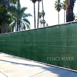 Amazon Com 6 X50 3rd Gen Dark Green Fence Privacy