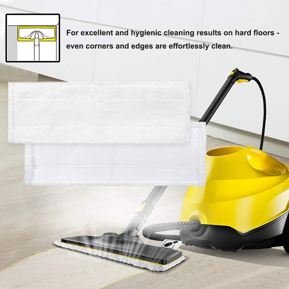 SC4 KEEPOW 5 Pack Microfibre Cloth Pads Compatible with Karcher EasyFix SC2 SC3 SC5 Steam Cleaner