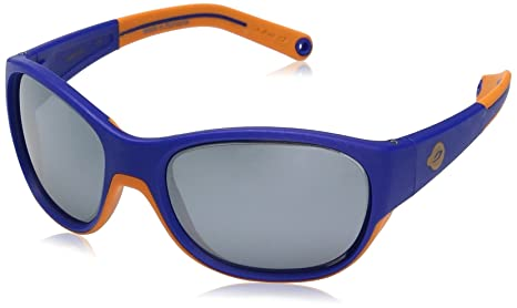amazon com julbo luky, blue orange, smoke, one size sports \u0026 outdoors