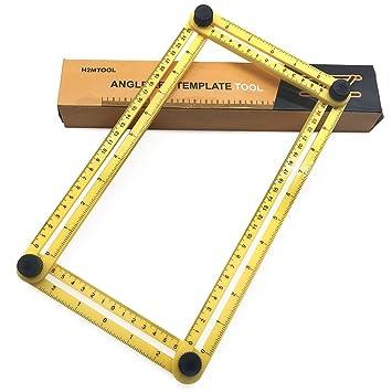 Cosyvie Angle Angleizer Template Tool Multi Angle Ruler For Handymen