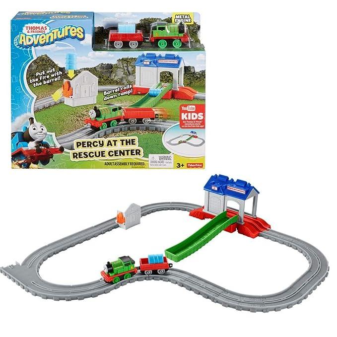 Percy Ses Et Secours Adventures Au De Mattel Amis Thomas Centre hotxsdCQrB