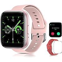 Smartwatch Reloj Inteligente ,Sebami Pulsera de actividad Impermeable IPX5 de 1.55 inch Pantalla Completa Táctilpara…