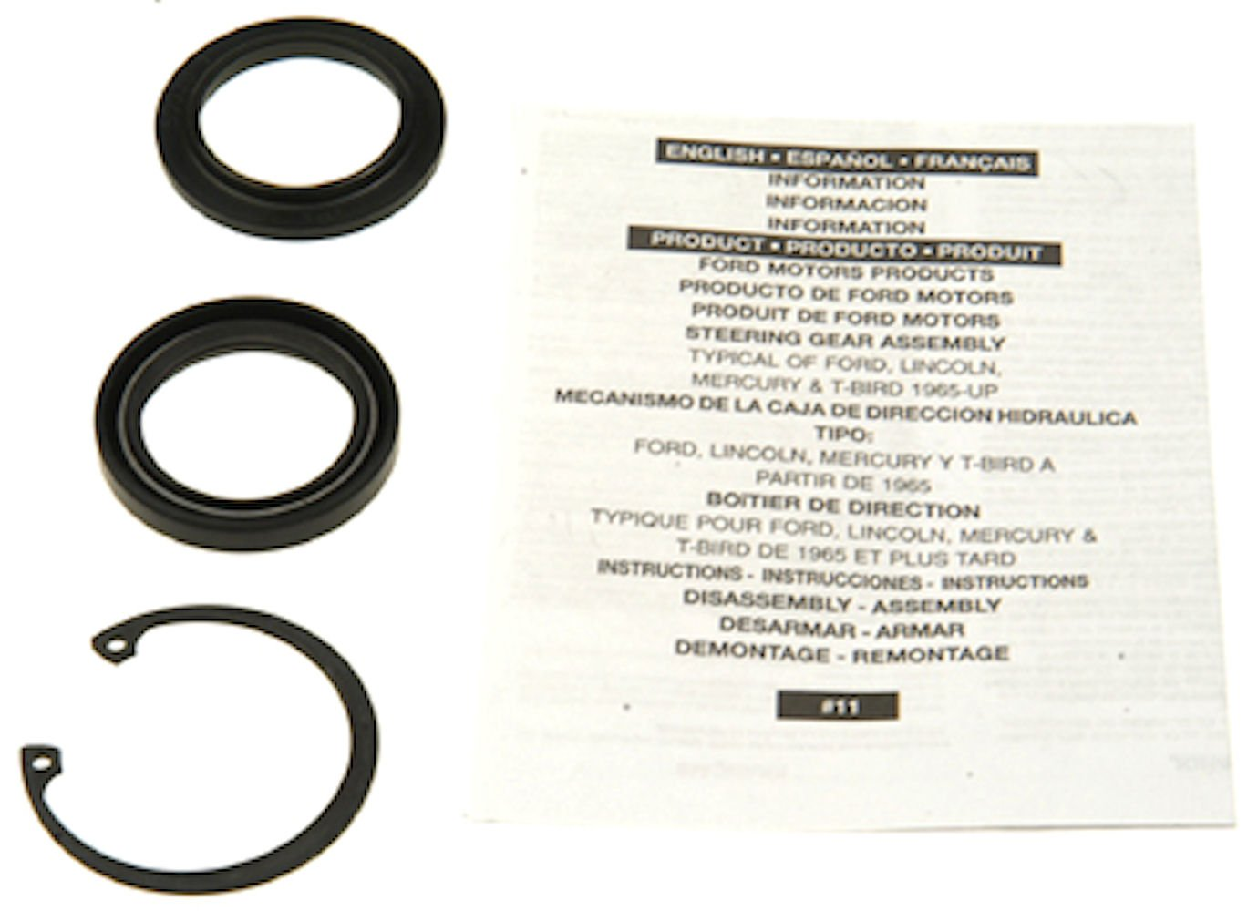 Edelmann 8779 Power Steering Gear Box Lower Pitman Shaft Seal Kit 8779EDH