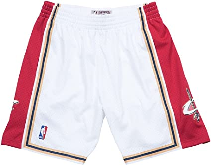 Mitchell /& Ness Cleveland Cavaliers Authentic Throwback Shorts Navy