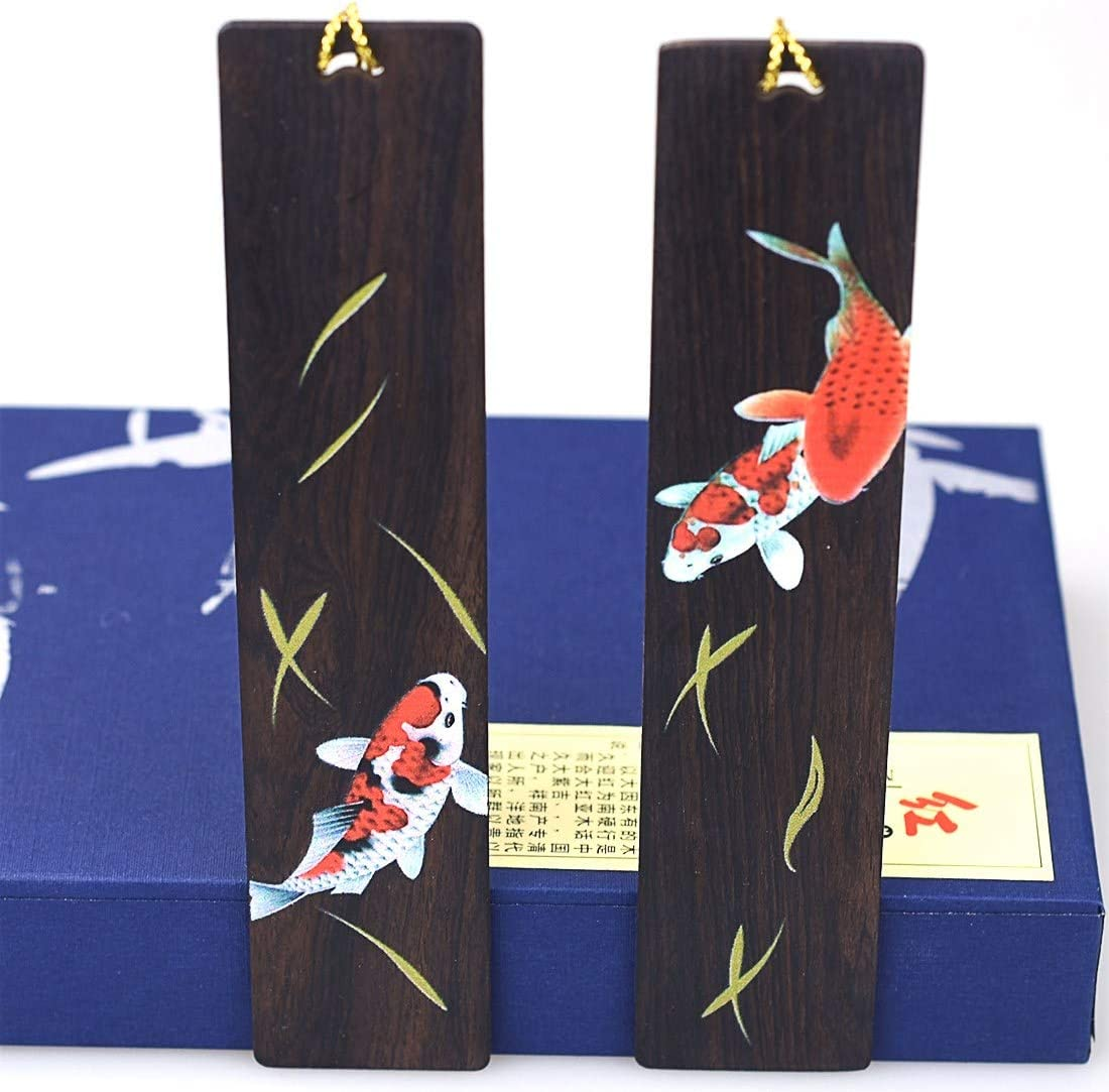 Handmade Wooden Bookmark Set Engraved Page-Marker for Book Lovers Collection Anniversary Gift Gift Packing- Hollowed Butterfly
