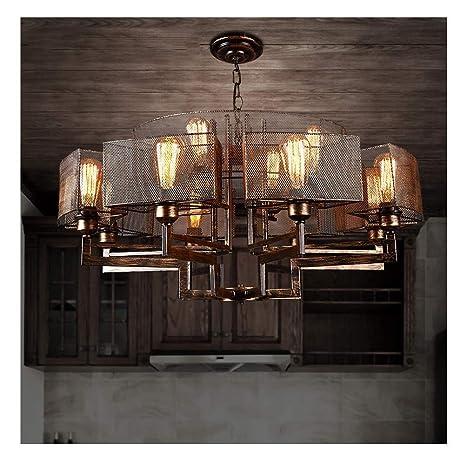 Nostalgic Chandelier Retro Suspension Lamp 12 - Lámpara de ...