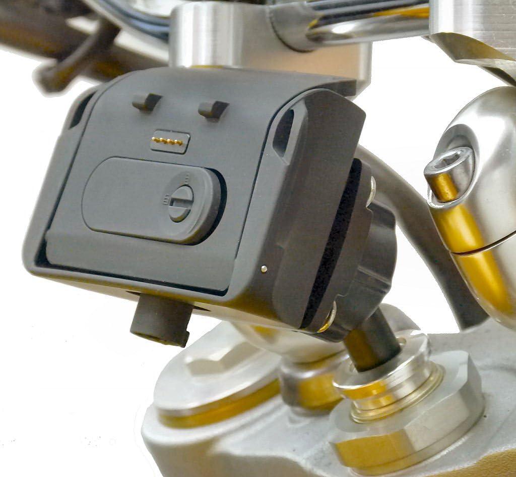 Buybits 13 3 Mm 14 7 Mm Angetriebene Motorrad Halterung Für Tomtom Rider 2 Navigation