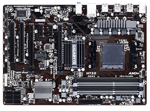 Gigabyte AM3+ AMD 970 SATA 6Gbps USB 3.0 ATX AM3+ Socket DDR3 1600 Motherboards (GA-970A-DS3P) -