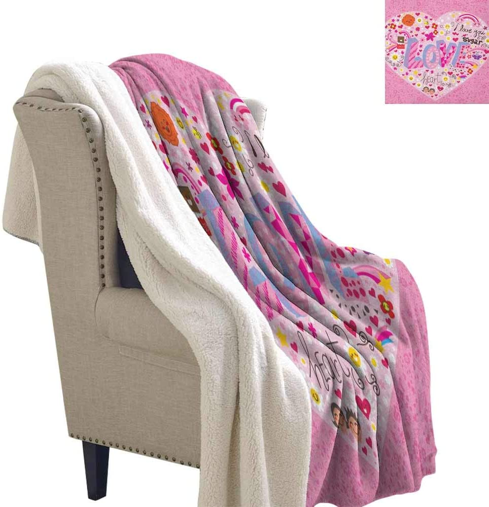 OFFICIAL Children/'s Throw LOL Surprise Snow Flake Fleece Blanket