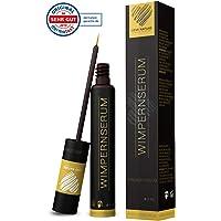 Love Nature 5ml Wimpernserum & Augenbrauenserum   für stärkeres Wimpernwachstum & Augenbrauenwachstum   mit Hyaluron   hormonfrei   Eyelash Activating Serum   Wimpernbooster  