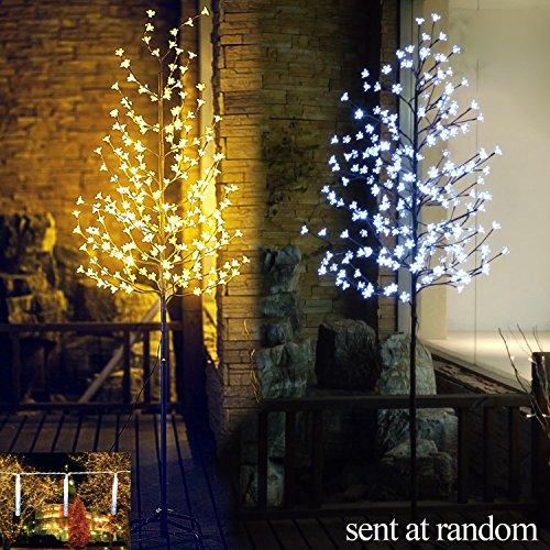 Fashionlite 6-Feet 240 LED Cherry Blossom Flower Tree Light Decoration