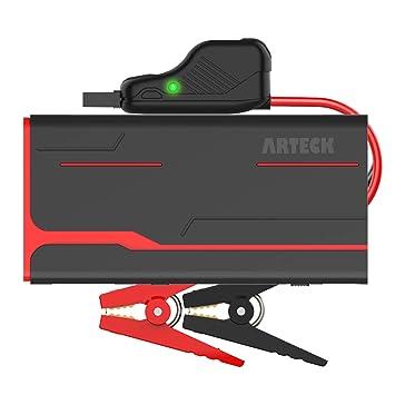 Amazon.com: Arteck - Batería de arranque para coche (hasta 7 ...