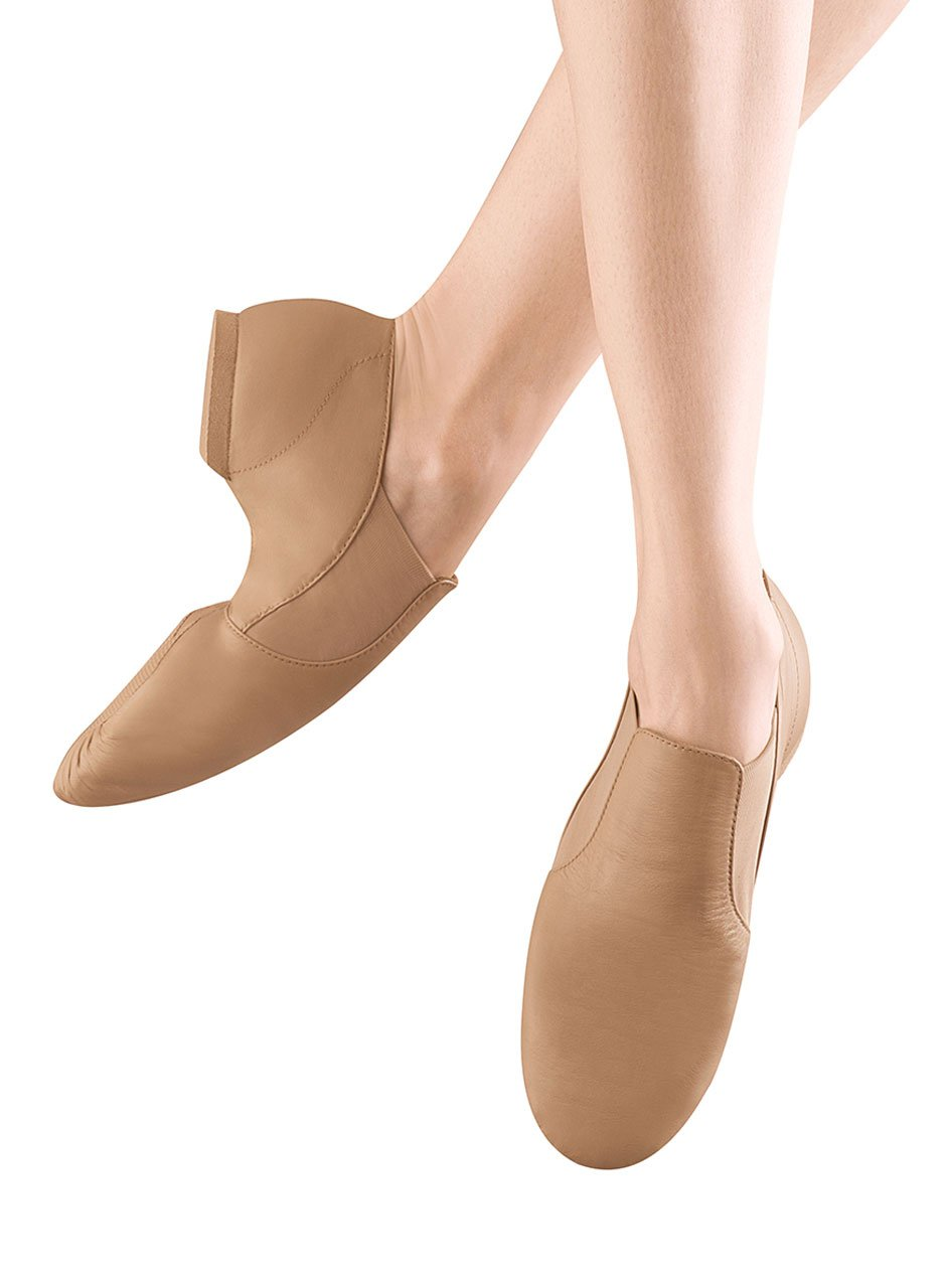 Bloch Women's Elasta Jazz Shoe B0041IXIEC 7 X(Medium) US|Tan
